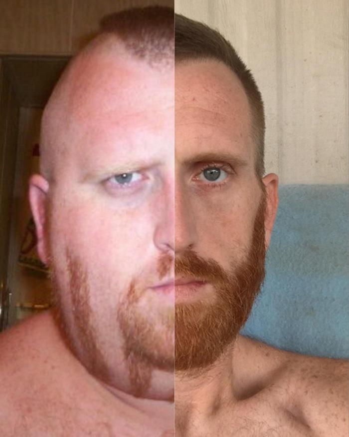 man loses 350 pounds