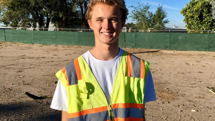 teen helps homeless get jobs