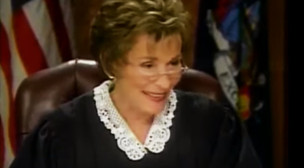 Judge Judy Solves This Case In 13 Seconds Thanks To The