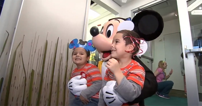 disney donates 100 million to children's hospitals