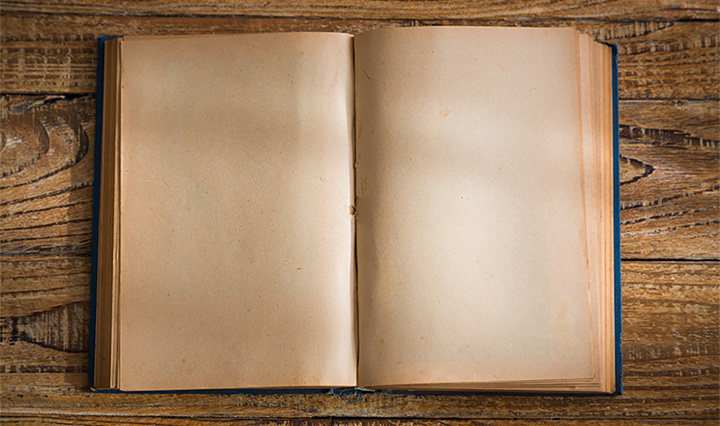 blank book idea for family heirloom