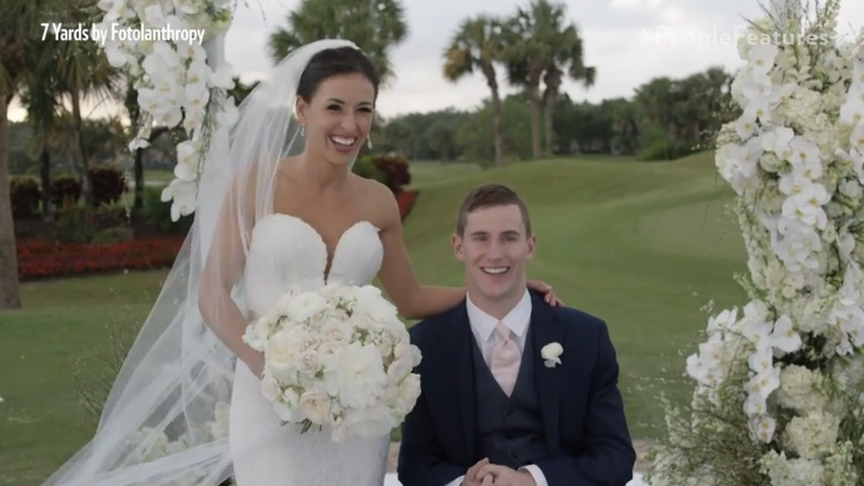 paralyzed football player gets married chris norton
