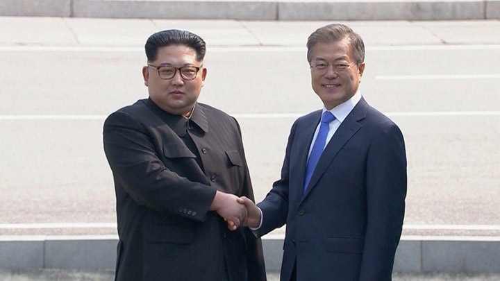peace between north and south korea