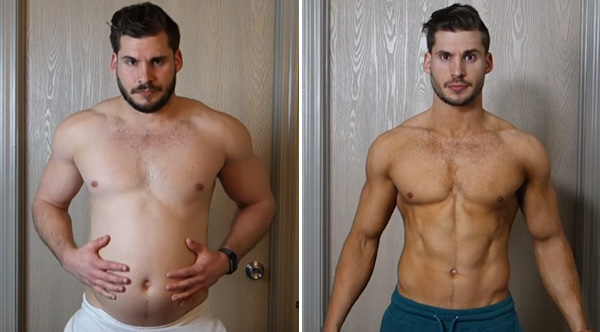 Man Makes Inspiring Time-Lapse Video Showing 3 Month Body ...