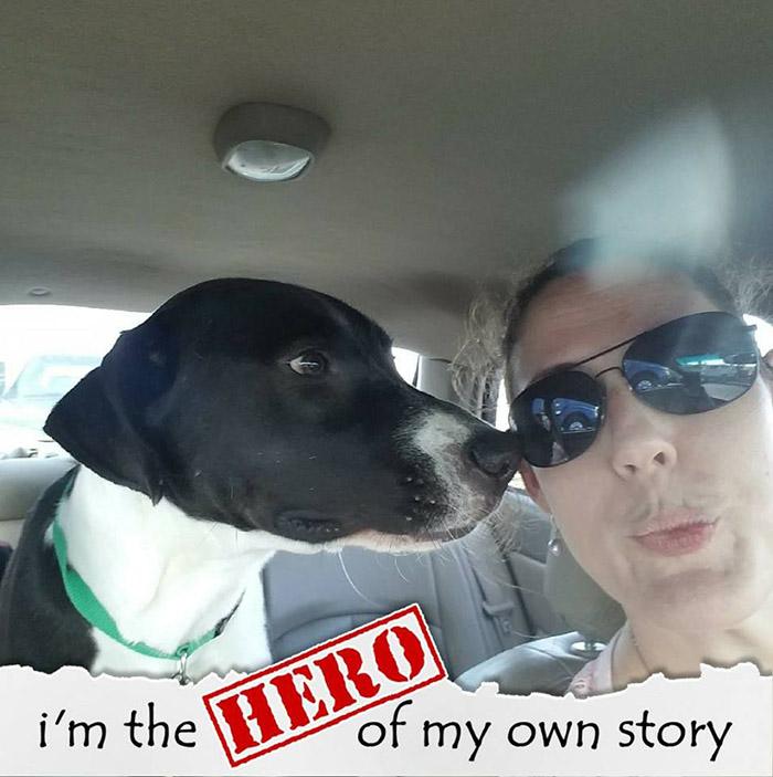 chrome rescue dog saves family