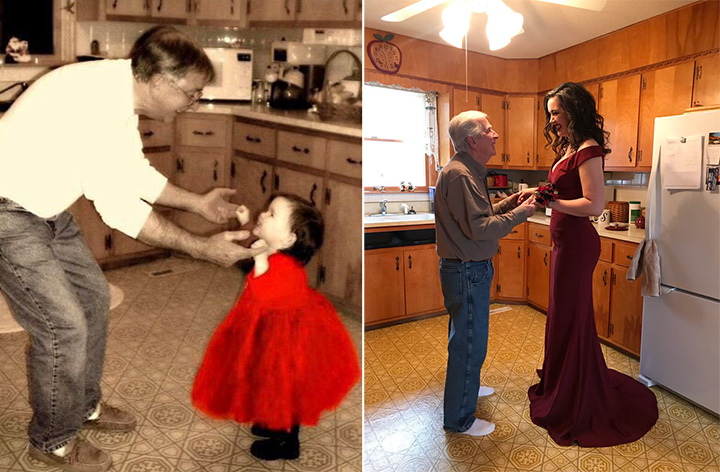red dress daddy daughter some things never change