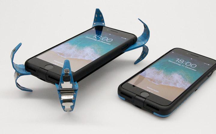 mobile phone air bag drop it