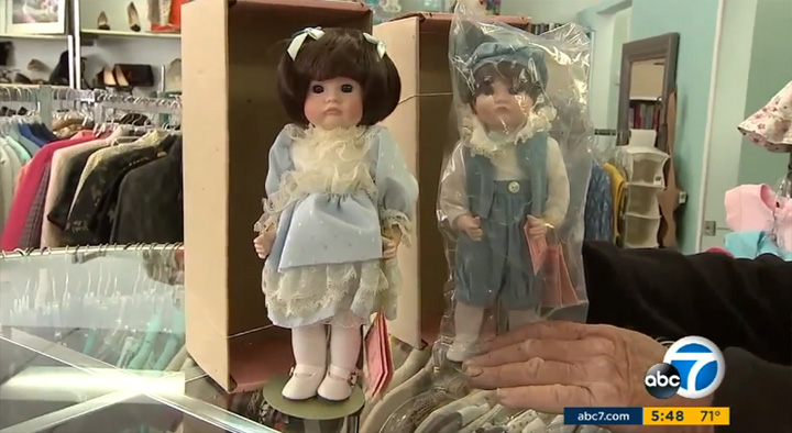 doll collection 36 thousand in cash