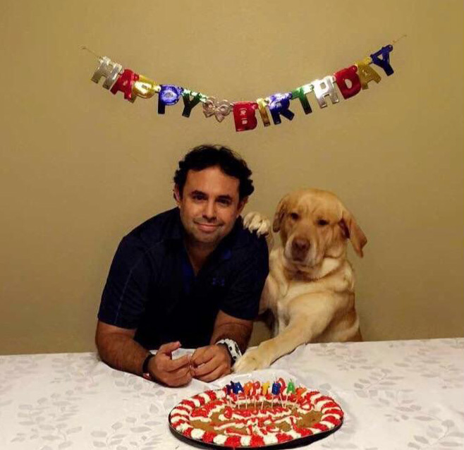 dog and dad birthday
