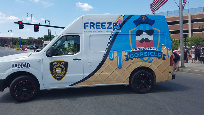 operation copsicle ice cream truck