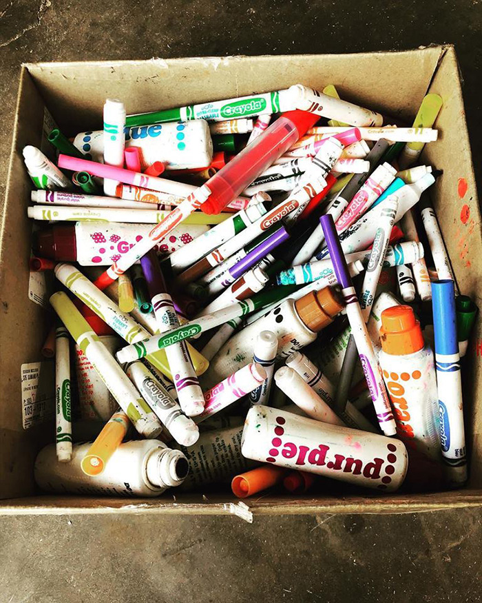 do not throw away old markers