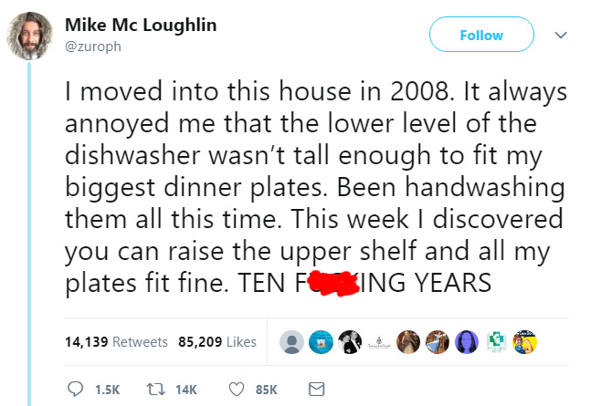 dishwasher hack large plates