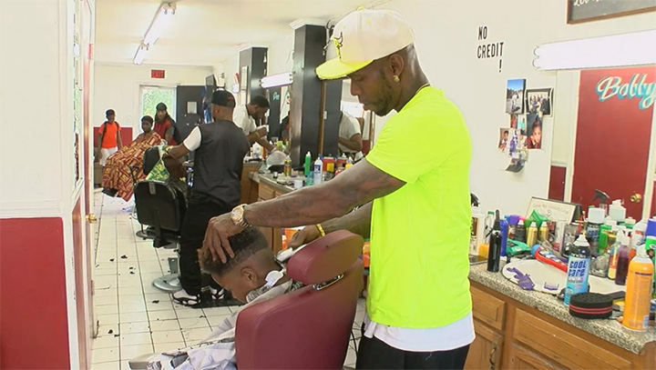 barber free haircuts and school supplies for kids