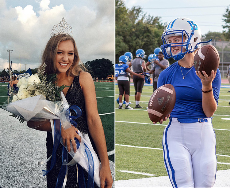 High School Senior Wins Homecoming Queen, Then Puts On Helmet And Wins Football Game 0o7zn-homecoming-queen-football-player-1