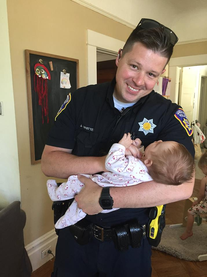 police officer adopts baby from pregnant homeless woman