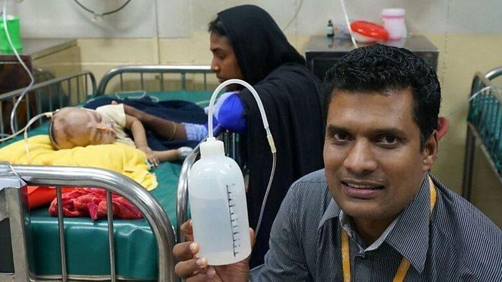 Doctor s Shampoo Bottle Respirator Has Cut Mortality Rates