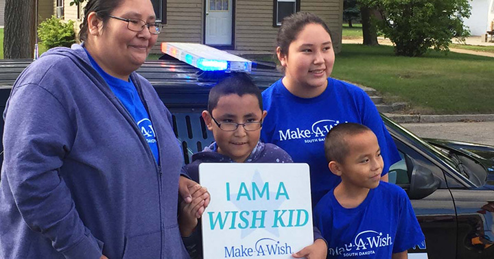 selfless act of kindness make a wish