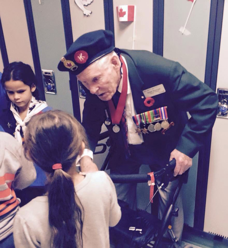 veteran and POW says he would do it again for little girl