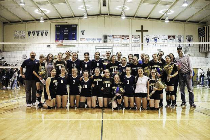 paradise volleyball uniforms good news story