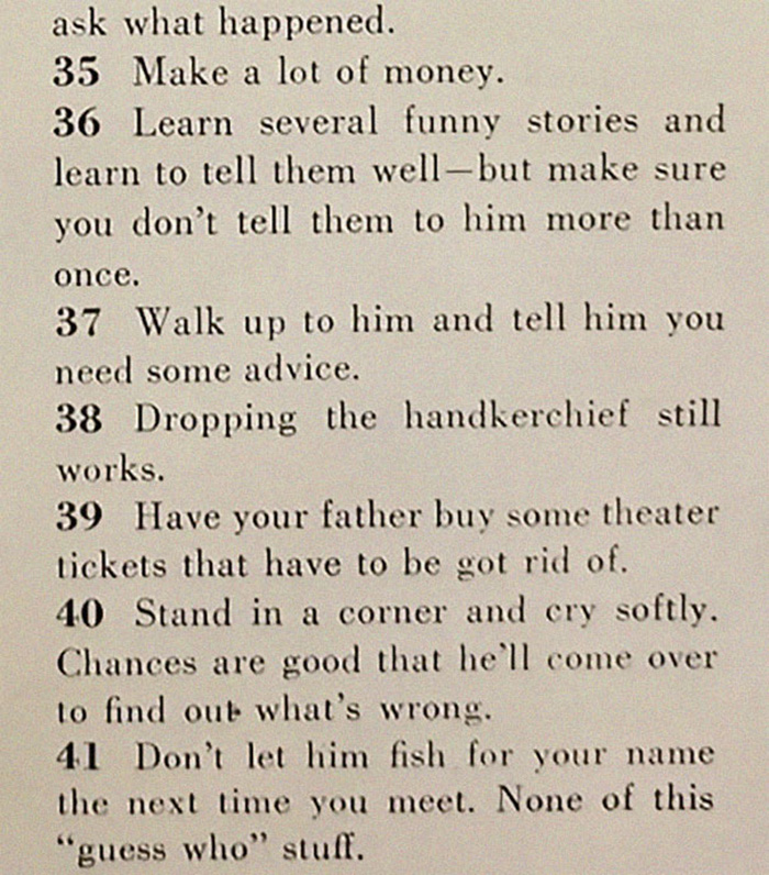 129 Ways To Get A Husband... In The 1950s 9zdpm-129-ways-to-get-a-husband-1950s-3b