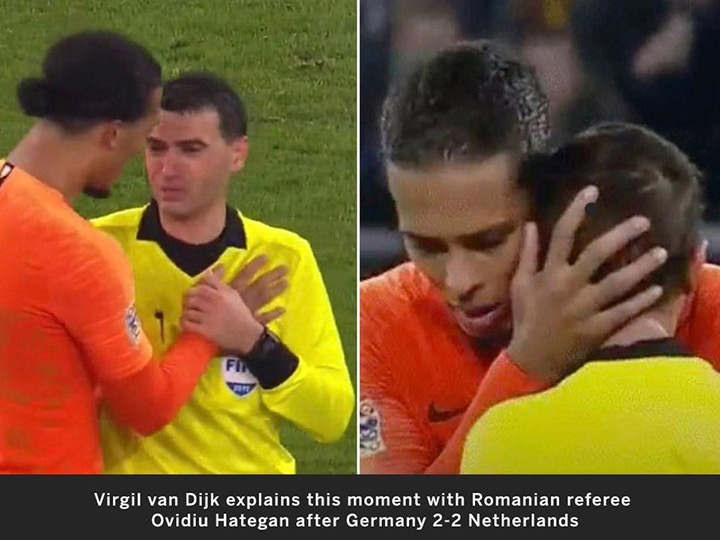 soccer player consoles ref who lost mom