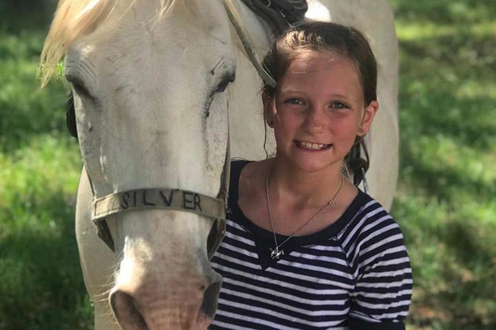 brain tumor vanishes little girl
