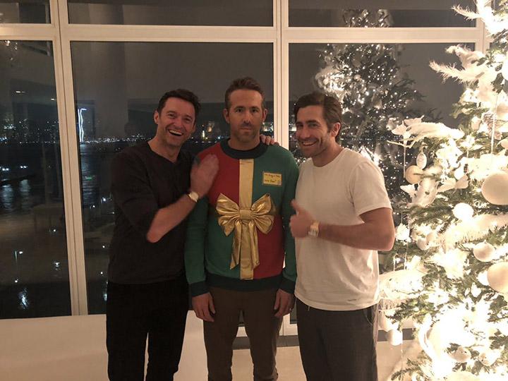 Ryan Reynolds Christmas sweater prank