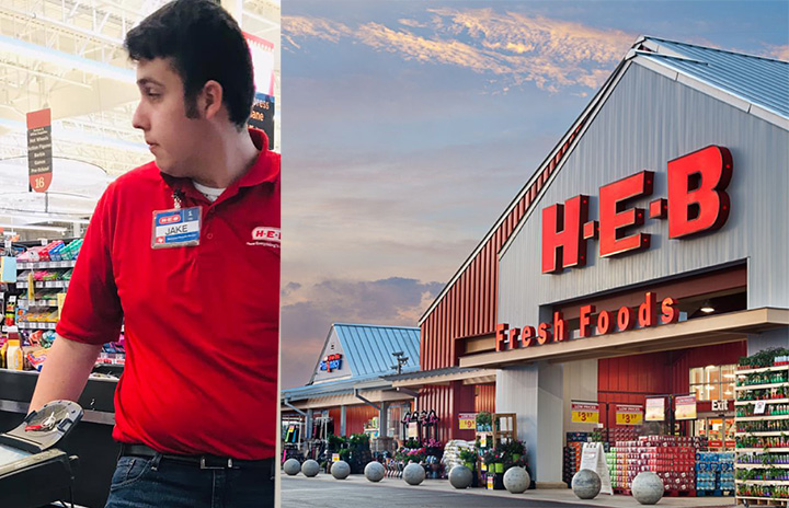 Jake HEB uses own money for customer