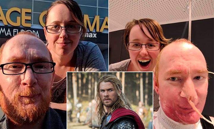 hemsworth and internet helps man see avengers movie