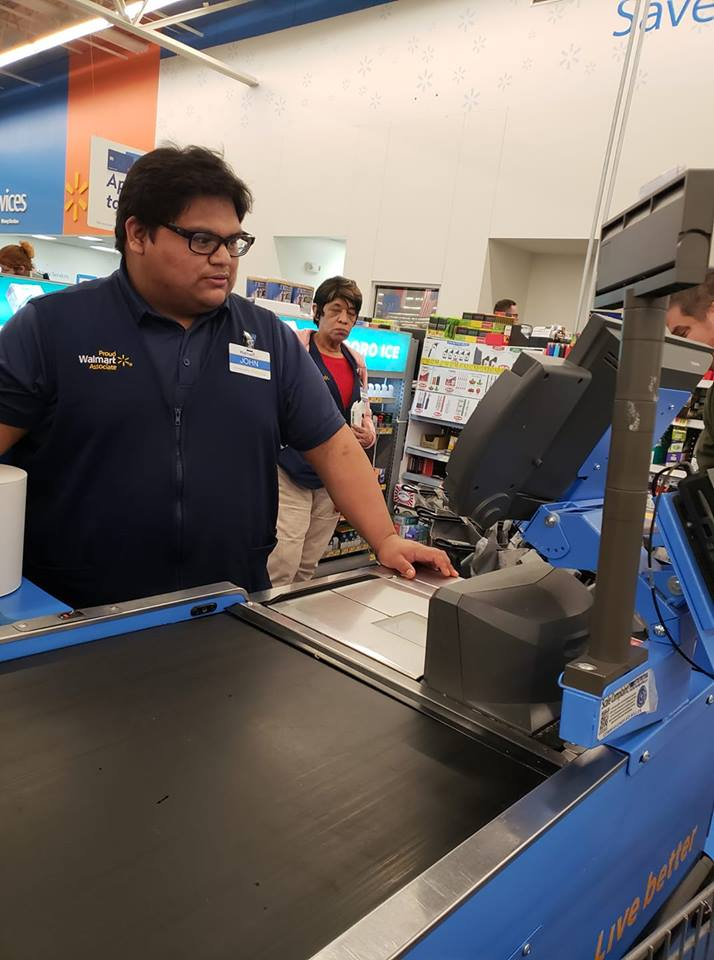 community raises money for walmart cashier big heart
