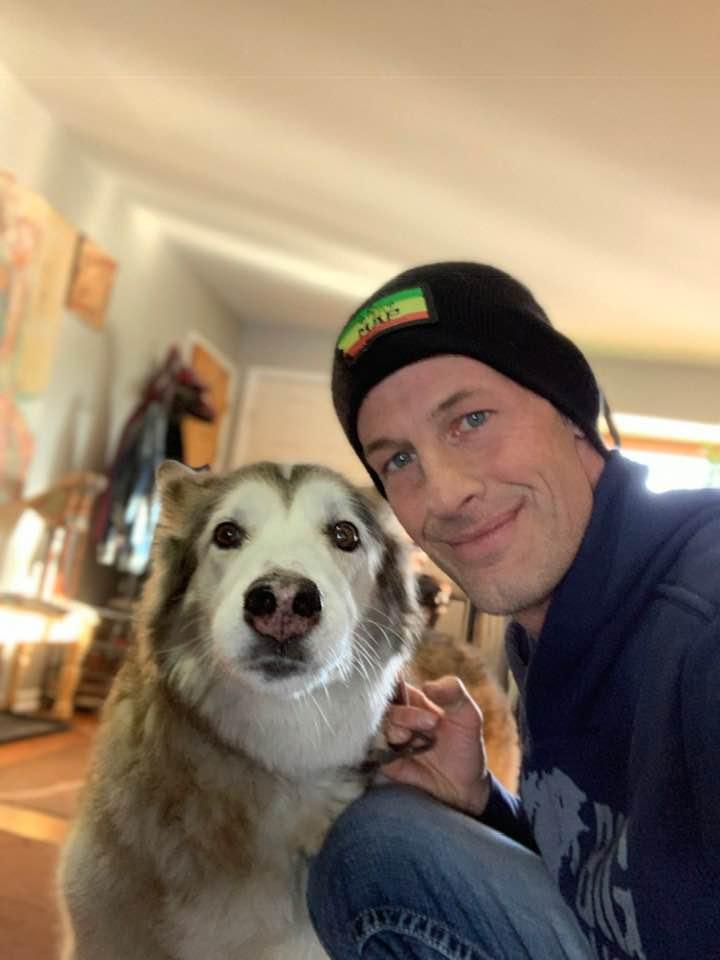 ups man saves dog icy pond