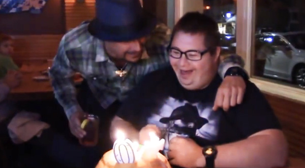 Kid Rock Gives Special Needs Fan The Birthday Surprise Of