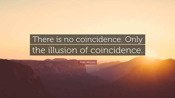 crazy stories on coincidence