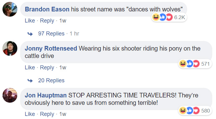 funny comments on old gun suspect