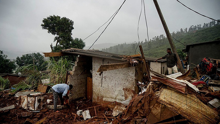 woman donates to cyclone victims gets house