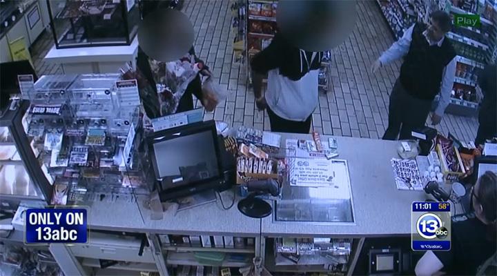 7 11 owner gives shoplifting teen food