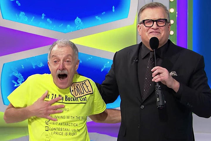 retired teacher price is right bucket list