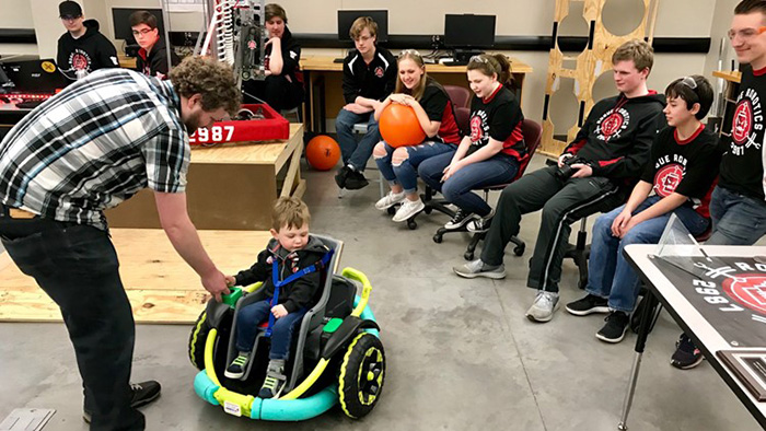 custom wheelchair cillian