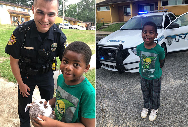 kid calls police lonely