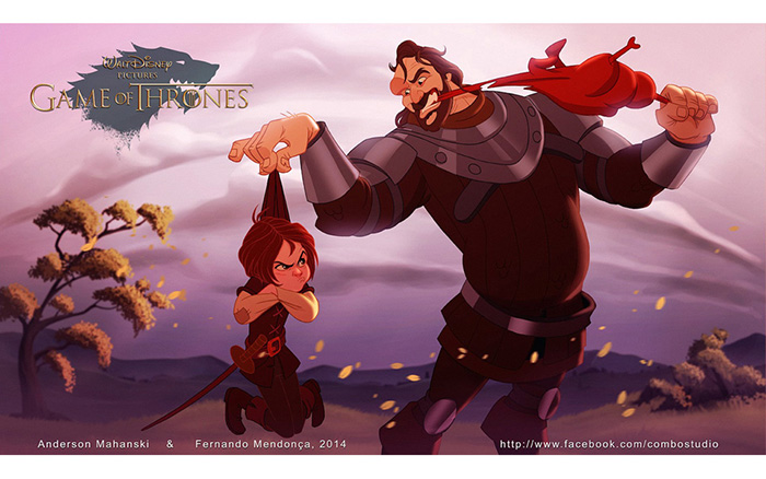 For Cass - If Disney Made Game Of Thrones Ptrsw-game-of-thrones-as-disney-characters-6