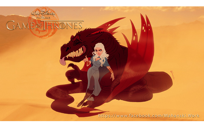 For Cass - If Disney Made Game Of Thrones Si0yu-game-of-thrones-as-disney-characters-3