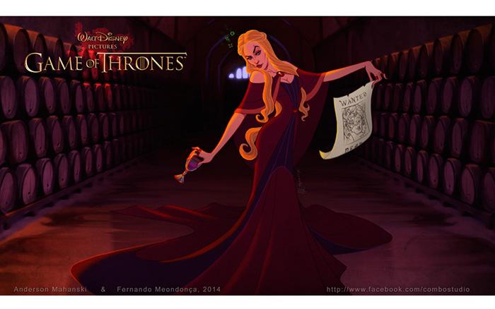 For Cass - If Disney Made Game Of Thrones W4v0o-game-of-thrones-as-disney-characters-5