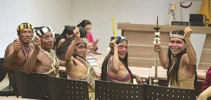Waorani tribe wins lawsuit against oil companies