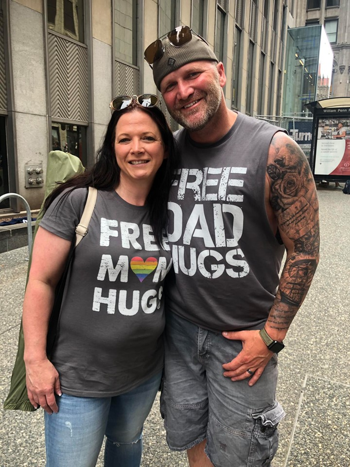free dad hugs pride parade