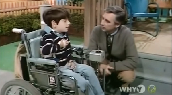 Mr Rogers Invited A Special Needs Child On His Show To