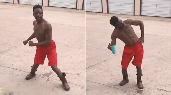 This Guy Dancing To 'The Git Up' Is Going To Make Your Day