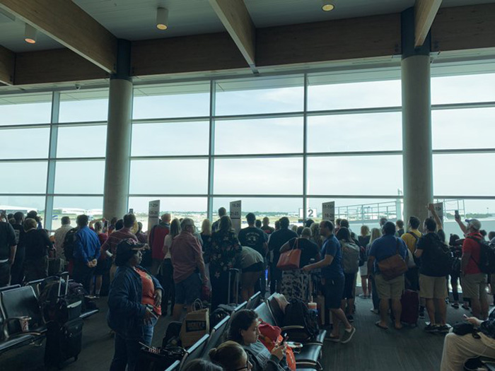 airline came to halt to honor vietnam vet