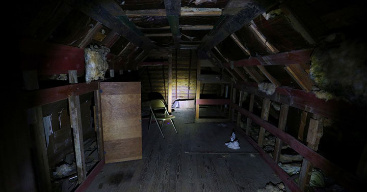 man living in house vents creepy story