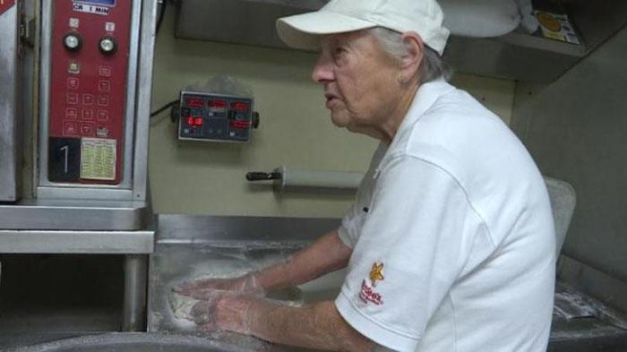 83 year old hardees employee