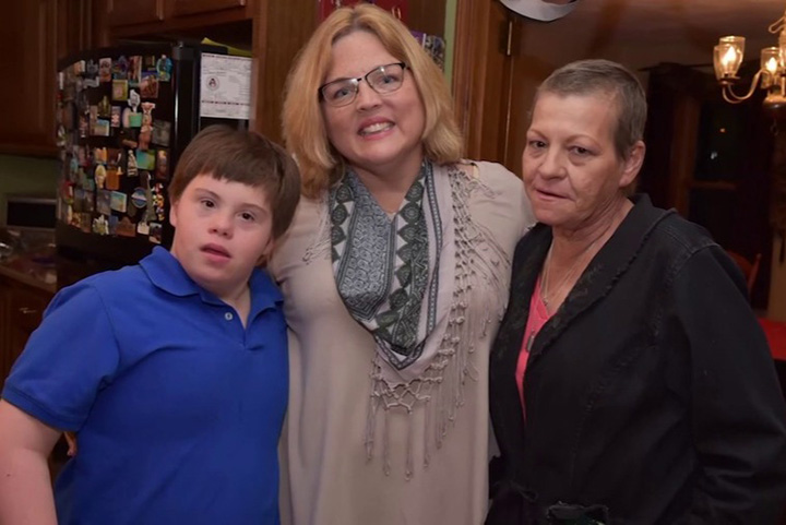 teacher adopts student down syndrome after mom dies